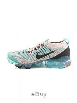 Nike Womens Air Vapormax Flyknit 3 Size 8 Plum Chalk South Beach AJ6910 500 NEW