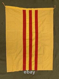 Original Vet souvenir ARVN South Vietnamese 1960s Vietnam War flag 34 x 45