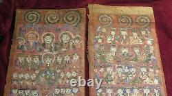 SHAMAN PAINTINGS TAOISM 1800's South China / Vietnam YAO People Daoist Rare