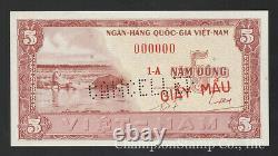 South Viet-Nam Front Proof withCancel Punch-Holes, Cat P13