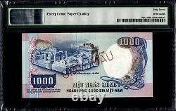 South Vietnam 1000 Dong 1975 Specimen P34as1 PMG67