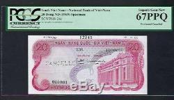 South Vietnam 20 Dong ND(1969) P24s Specimen Uncirculated Graded 67