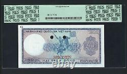 South Vietnam 200 Dong ND(1966) P20bct Color Trial Uncirculated