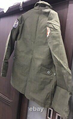 South Vietnam 2nd Infantry 23rd Division Shirt Size A5