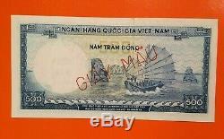 South Vietnam 500 Dong 1966 P-23s1 Specimen Unc
