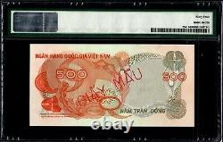 South Vietnam 500 dong 1969 P-9s1 Specimen PMG64