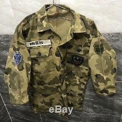 South Vietnam CSDC Sercurity Police 512 Shirt Spider 1st Team