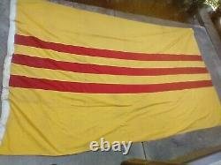 South Vietnam Flag Which Flew At The US Consulate At The Fall Of Saigon