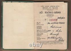 South Vietnam RVN Civilian Passport 1969 Issue