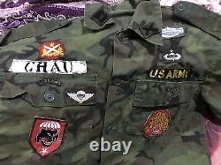 South Vietnam Ranger Airborne Recon Team 52 Shirt Size Medium