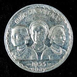 South Vietnam VNCH 1953, Set of 3 Coins 10 SU, 20 SU & 50 XU KM # 1, 2, 3 UNC