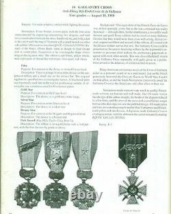 South Vietnam VNCH Gallantry Cross Medal & Warrant officer Set Vietnam Made