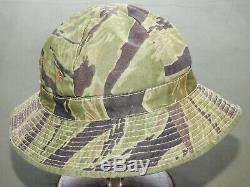 South Vietnamese Marine Corps Vietnam CUSTOM VNMC TIGER STRIPE CAMO BOONIE HAT