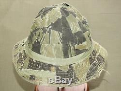 South Vietnamese Marine Corps Vietnam VNMC TIGER STRIPE CAMO SCRAP BOONIE HAT