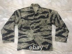 South Vietnamese Tiger Stripe Shirt Original War Vietnam (Mike Force)