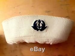 South Vietnamese arvn Navy Sailor Cap Vietnam War Original