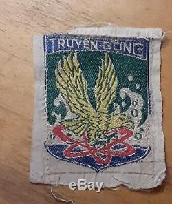 South Vietnamese original arvn vnmc signals marine unit Vietnam War silk