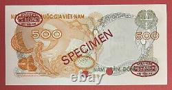 VIETNAM SOUTH SPECIMEN 500 Dong 1970 PICK# 28s Choice UNC. (#2437)