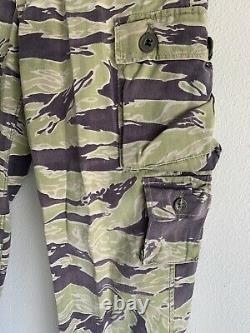 Vietnam ARVN South Vietnamese Tiger Stripe LLS Camo Trousers Cargo Pants