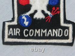 Vietnam USAF 1st AIR COMMANDO Squadron PATCH South Vietnamese Handmade 1960s