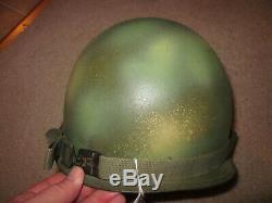 Vietnam War South Vietnamese special forces LLDB camo steel helmet
