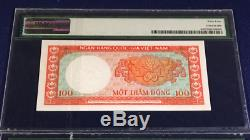 Vietnam south 100 dong 1966 pick unlisted specimen proof PMG64 banknotes