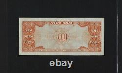 Vietnam south 500 dong 1955 P-10 VF++ FRENCH INDOCHINA