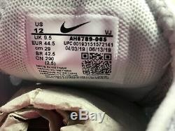 Womens Nike Air Max 270 South Beach Pure Platinum/Pink Blast AH6789-065 Sz 12
