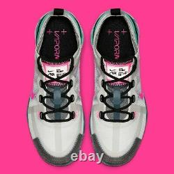 Womens Nike Air Vapormax 2019'South Beach' Shoe Size 10 White Pink AR6632-005
