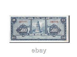 #110869 Viet Nam Du Sud, 500 Dng, 1955, Km #10a, Unc(60-62), G903779
