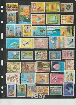 1951-1975 Sud-vietnam Collection Complète Lot Scott # 01 516 Timbres Mnh $$