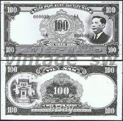 1953 Sud-vietnam 100 Dong Épreuve Photo Design Non D'émission