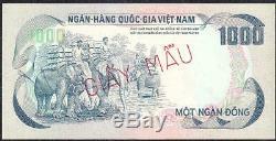 1972 Set Sud-vietnam De 5 Notes Échantillons