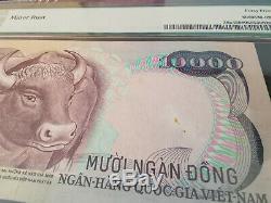 1975 South Vietnam P # 36a 10000 Dong Buffalo, Rare Unissued Note (pas Specimen)