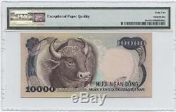 1975 Viet Nam Du Sud 5000 Et 10000 Remarques Dong Originaux Pmg Graded 65 Gem Unc