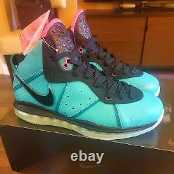 2021 Nike Lebron 8 Ds South Beach Pre-heaat Us Taille 10 En Hands Prêt Au Navire