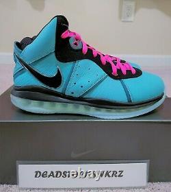 2021 Nike Lebron 8 Qs South Beach Cz0328 400 Tailles Hommes