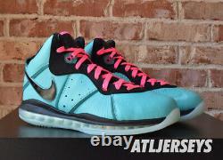 2021 Nike Lebron 8 VIII Qs South Beach Retro Rose Cz0328-400