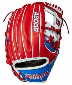2021 Wilson A2000 1786 Corée Du Sud Country Pride Limited Gants 11,5 Baseball Rht