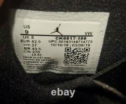 Air Jordan 6 Rings' South Beach' Ck0017-100 Mens Taille 9 Chaussures