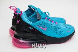 Air Max 270 Gs South Beach Blue Fuchsia Pink Size 5y Femmes 6,5 Bv6376-400