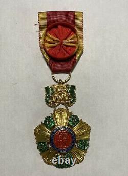 Arvn Médaille De L'ordre National Du Vietnam Du Sud 4ème Classe