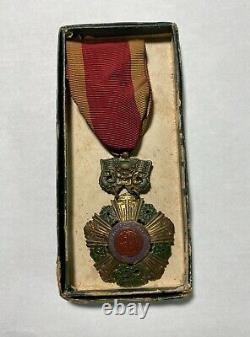 Arvn Ordre National Du Vietnam Du Sud 5ème Classe Médaille Bo Quc Huân Chng