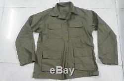 Arvn Repbulic Sud Vietnam Rvnhs Infanterie Shirt Veste Taille L Guerre Du Vietnam