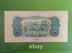 Brt Vietnam Sud 1966 Spécimen 2 Dong Note Unc