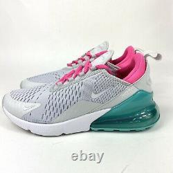 Chaussures De Course Nike Air Max 270 Taille Pour Femmes 9 Blanc South Beach Ah6789-065