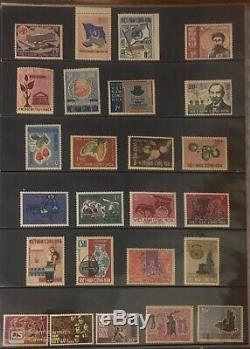 Collection Complète De Sud-vietnam Mnh Timbres Perf 1951-1975 Incl. Non Emis