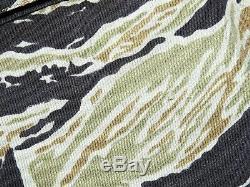 Corps Sudvietnamiens Marine Vietnam Vnmc Tiger Stripe Camo Combat Shirt Vtg