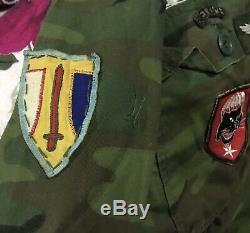 Équipe Sud-vietnam Ranger Airborne Recon 52 Shirt Taille Moyenne