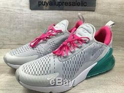 Femmes Nike Air Max 270 South Beach Pur Platinum / Rose Souffle Ah6789-065 Sz 12